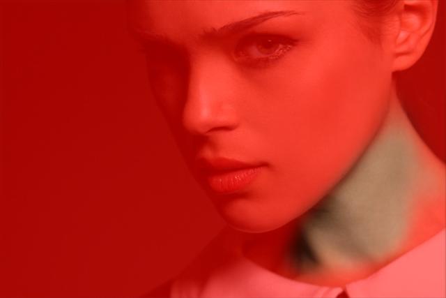 Photoshop首の色を調整するトーンカーブのマスク
