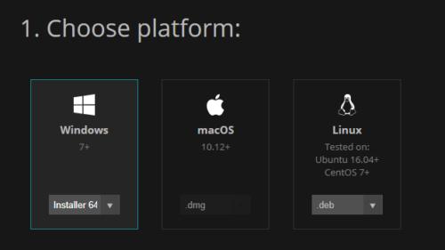 PureRefのダウンロードOS選択